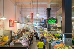 Grand Central Market, downtown Los Angeles (for The Good Life).