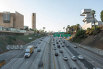 101 Freeway, downtown Los Angeles (for The Good Life).