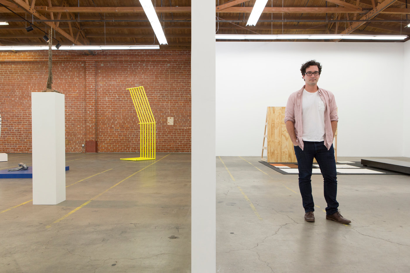 François Ghebaly, owner, François Ghebaly Gallery, downtown Los Angeles (for The Good Life).