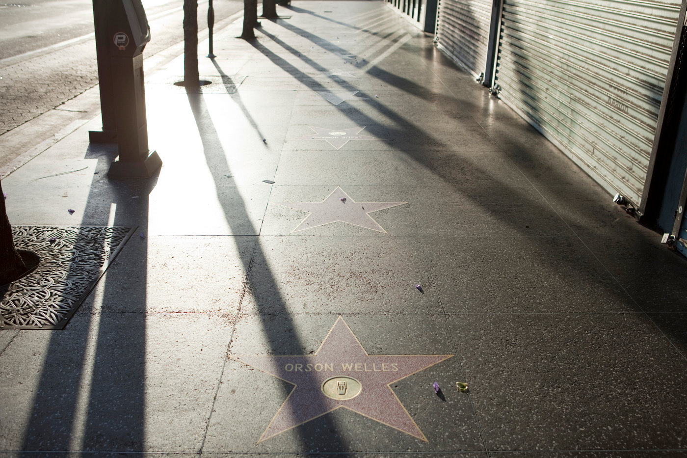 Walk of Fame, Hollywood (for M Magazine).