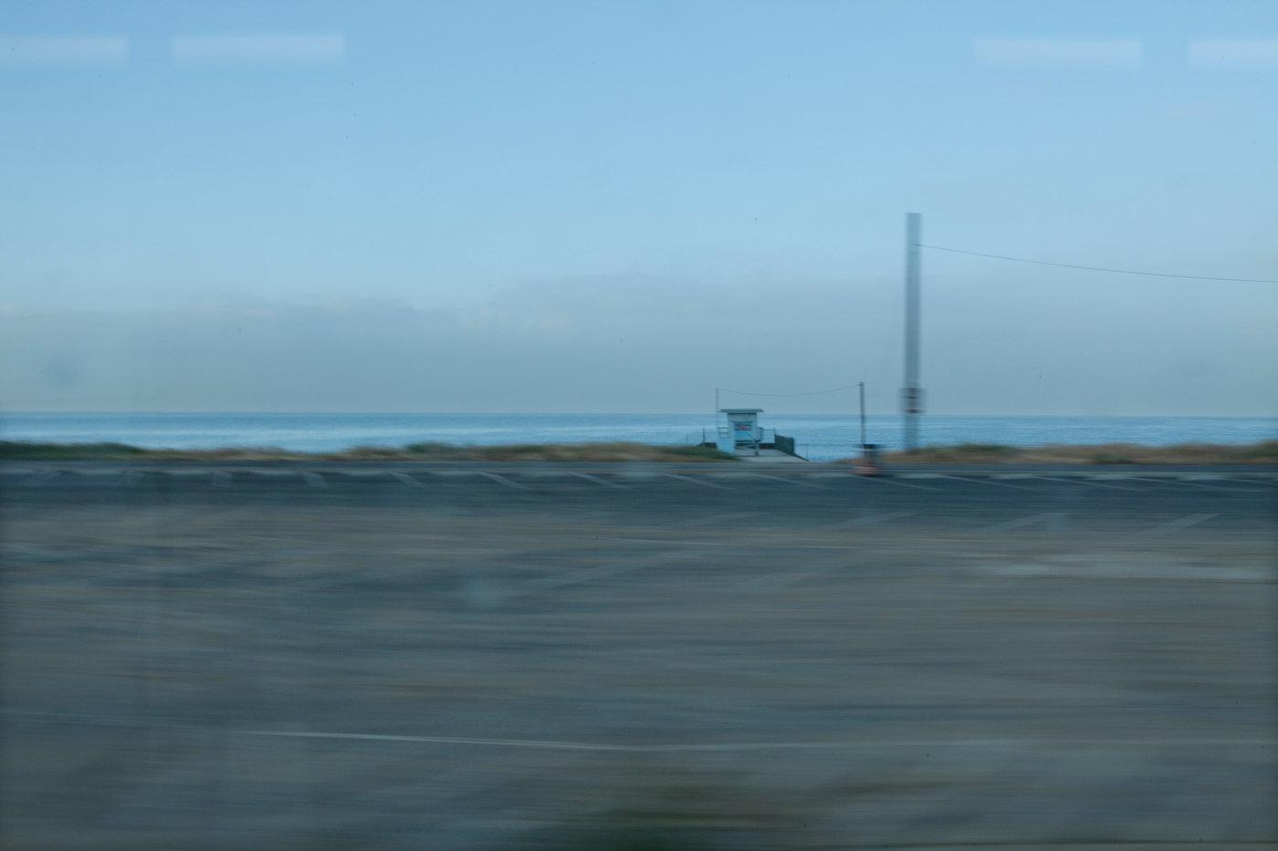Pacific Coast Highway at dawn, Malibu (for M Magazine).