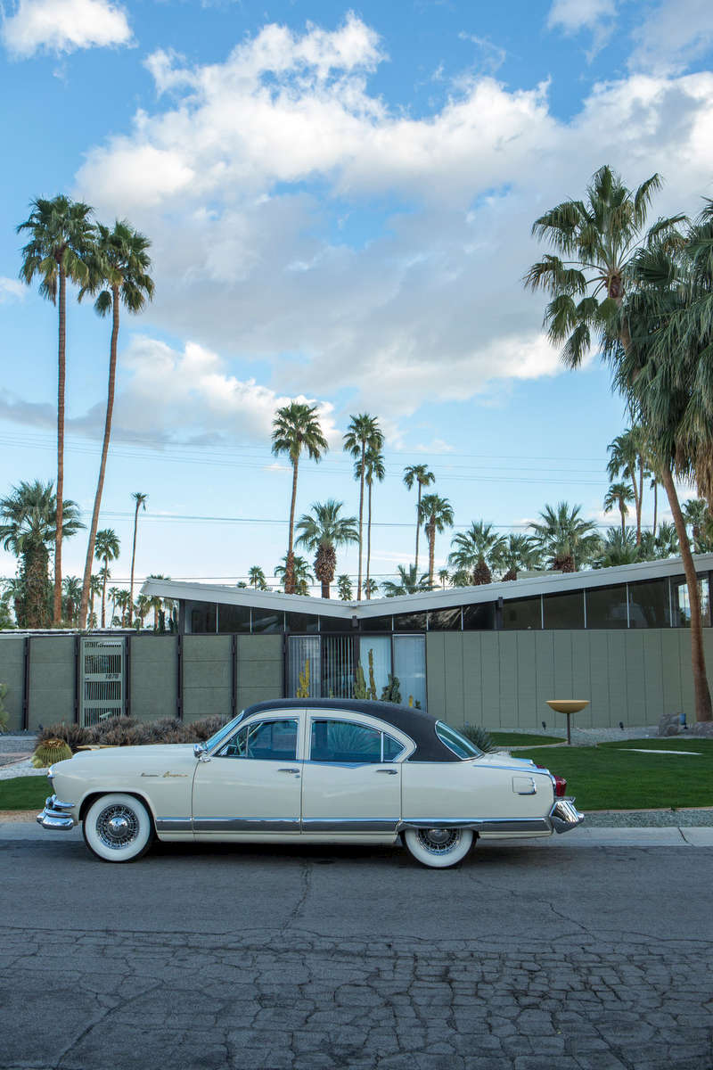 Dan Palmer at Bill Krisel Mid-Century modern, Vista Las Palmas, Palm Springs (for IDEAT).