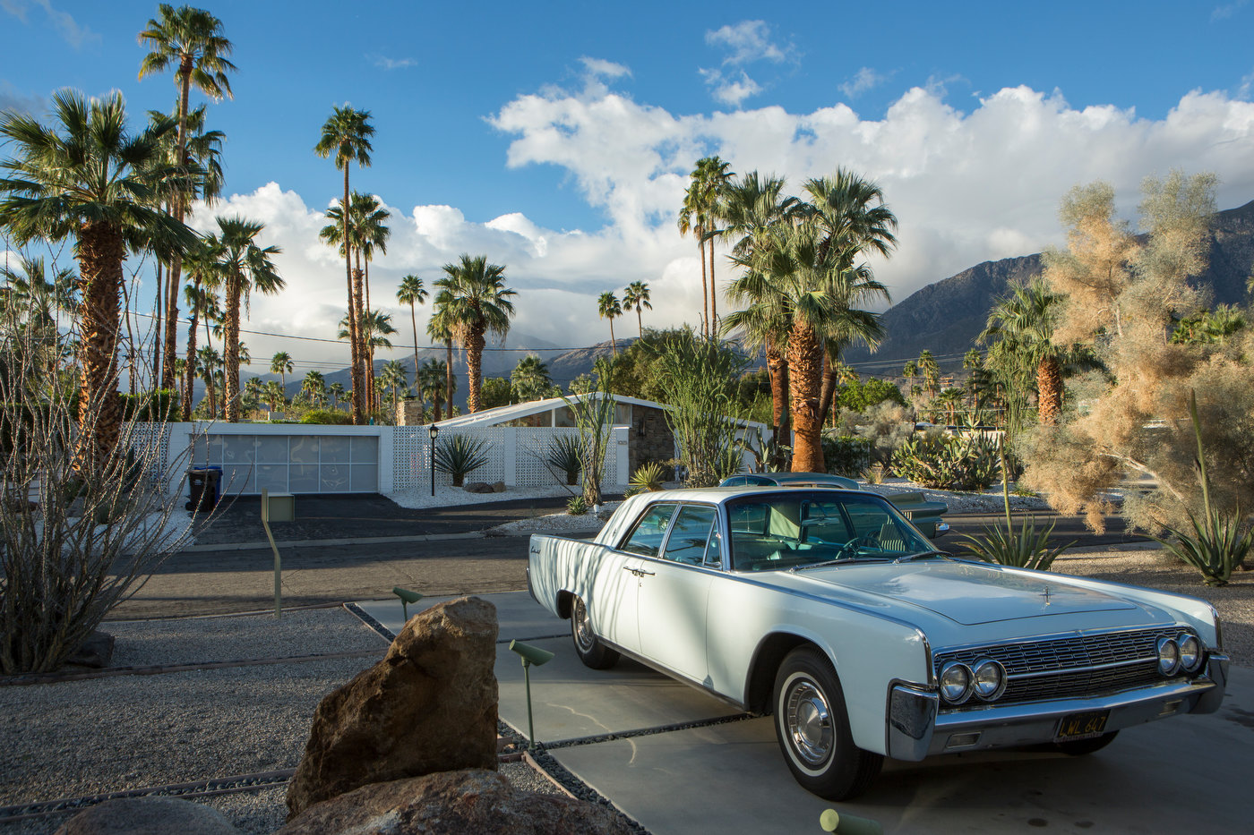 Mid-Century modern, Vista Las Palmas, Palm Springs (for IDEAT).