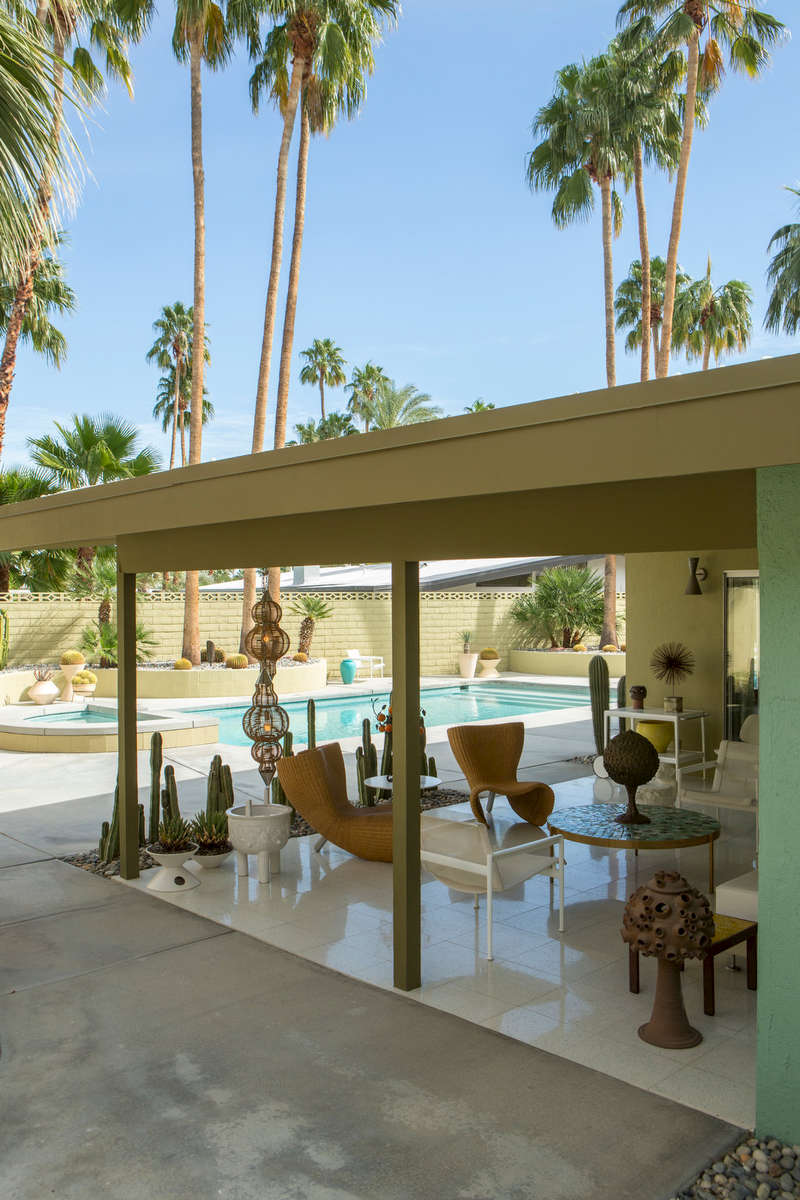 Charles Dubois Mid-century Modern, Palm Springs (for IDEAT).