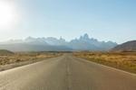 The road to El Chalten, Argentina.