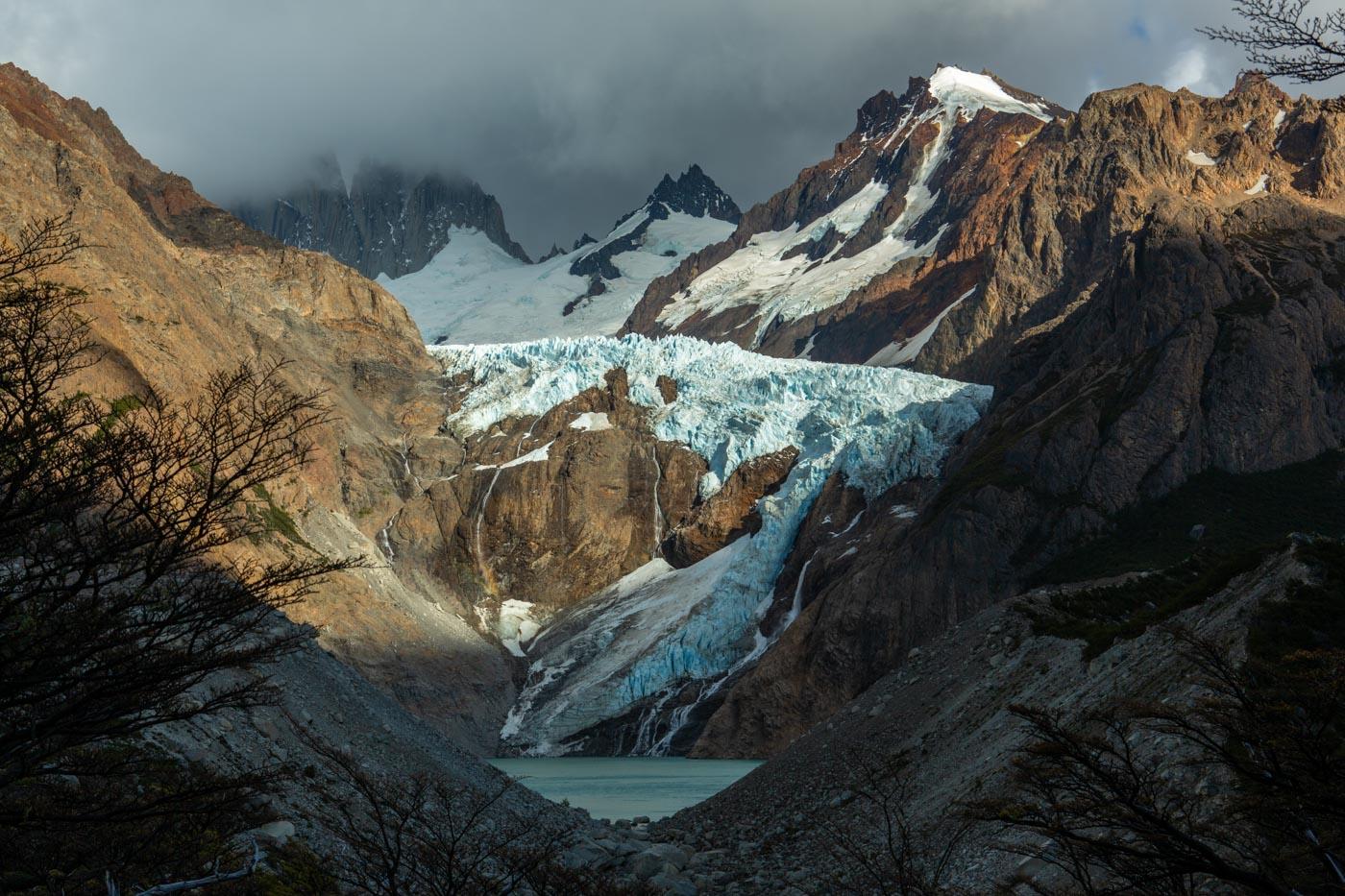 Glacier near El Chalten, Argentina.Glacier near El Chalten, Argentina.