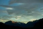 Sunset, El Chalten, Argentina.