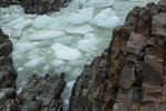 Ice flow, Grey Glacier, Chile.