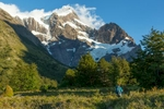 Start of the 3rd trek day in Torres del Paine.