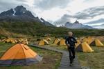 Patagonia tent city.