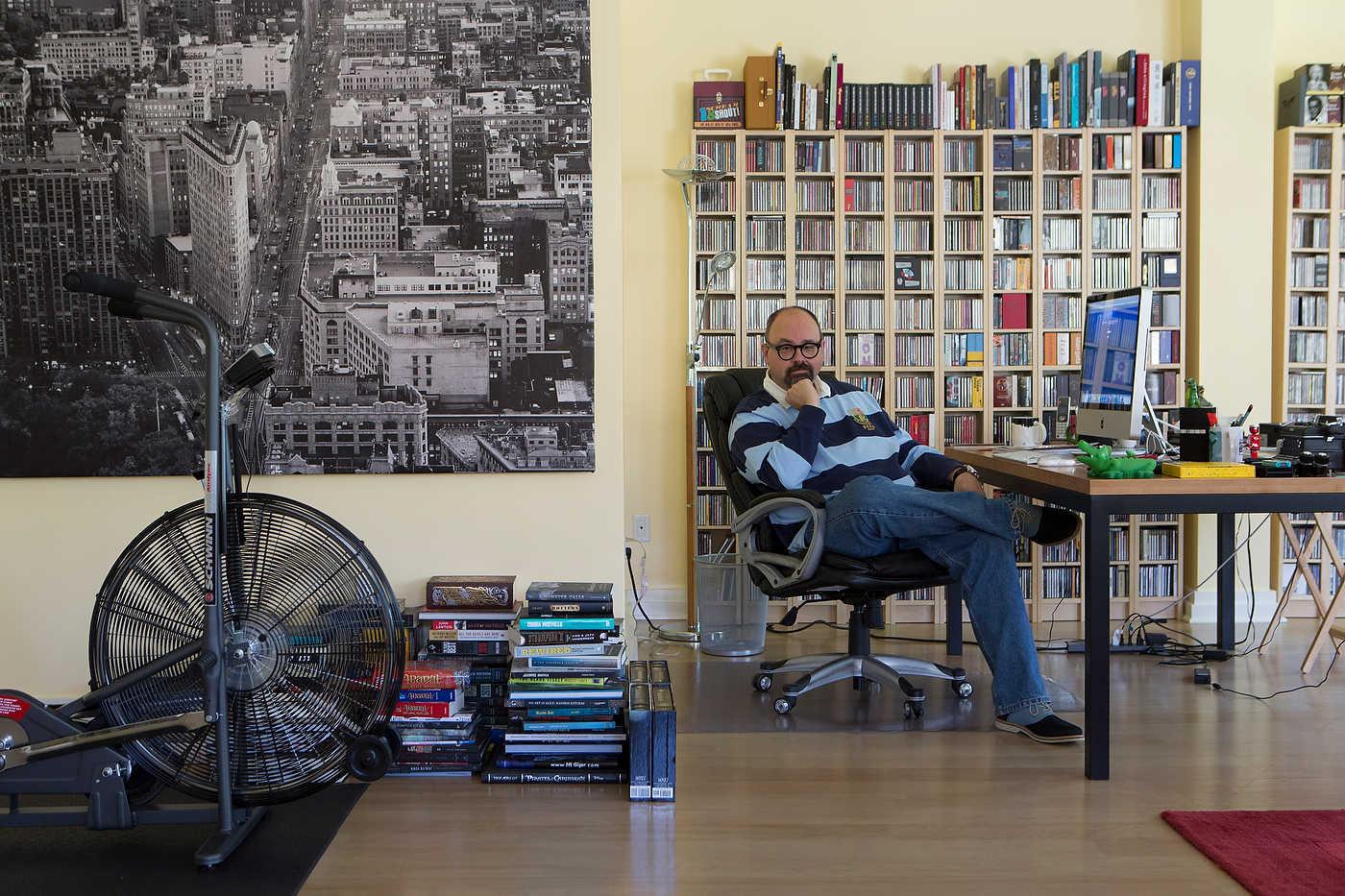 Calros Ruiz-Zafon, writer, Beverly Hills, for Donna Magazine.