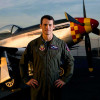 Paul Moga, Air Force pilot and host of Showdown Air Combat, California, for Discovery Channel.
