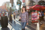 Joelle Benazra, publicist, in Hollywood, for VSD Magazine.