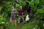 No Kitchen Required poster shoot, Dominica Island, for BBC Worldwide.
