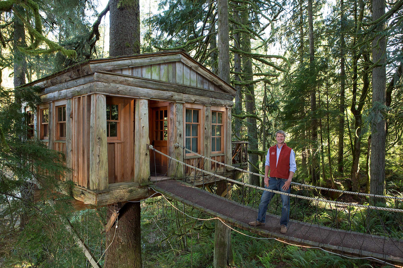 Tree House Masters, Seattle, for Discovery Channel.