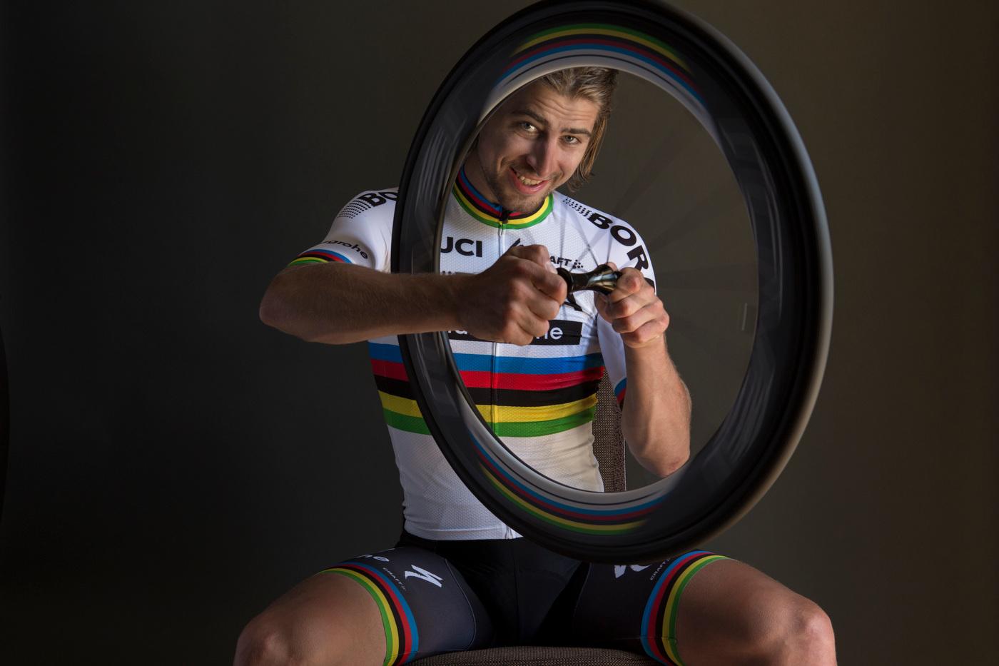 Peter Sagan, road cycling world champion, for VSD Magazine.