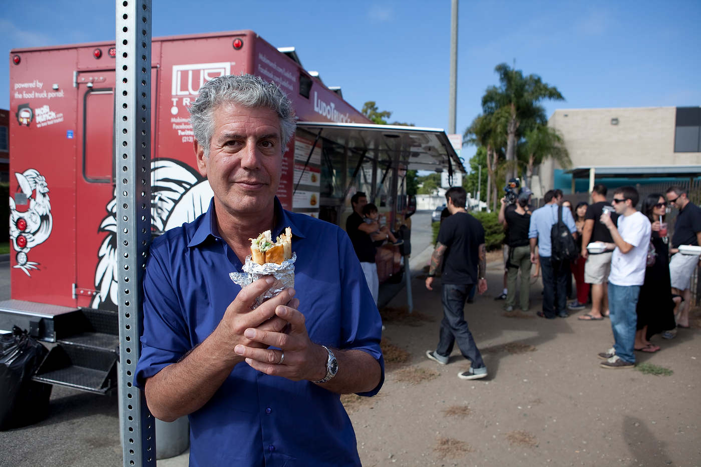 Anthony Bourdain, Layover, The Travel Channel.