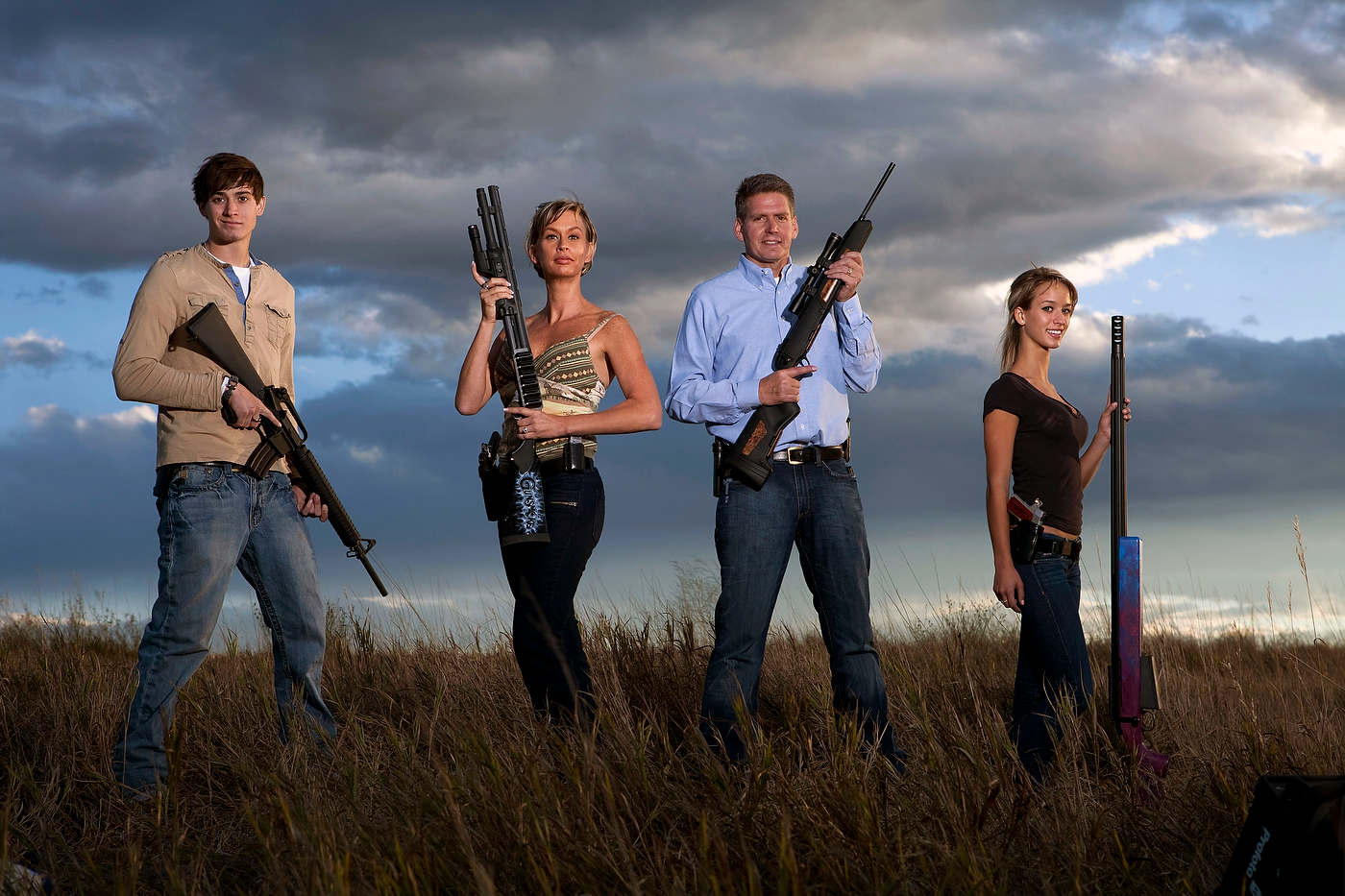 The Wyatt family, Colorado, American Guns, Discovery Channel.