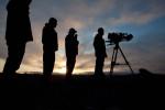 Film crew near Kavik, north of the Arctic Circle.