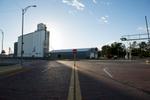 Main street, Kinsley, Kansas, pop 1,457, half way between San Francisco and New York.