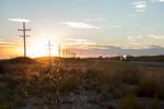 Sunset, Route 50, Kansas.