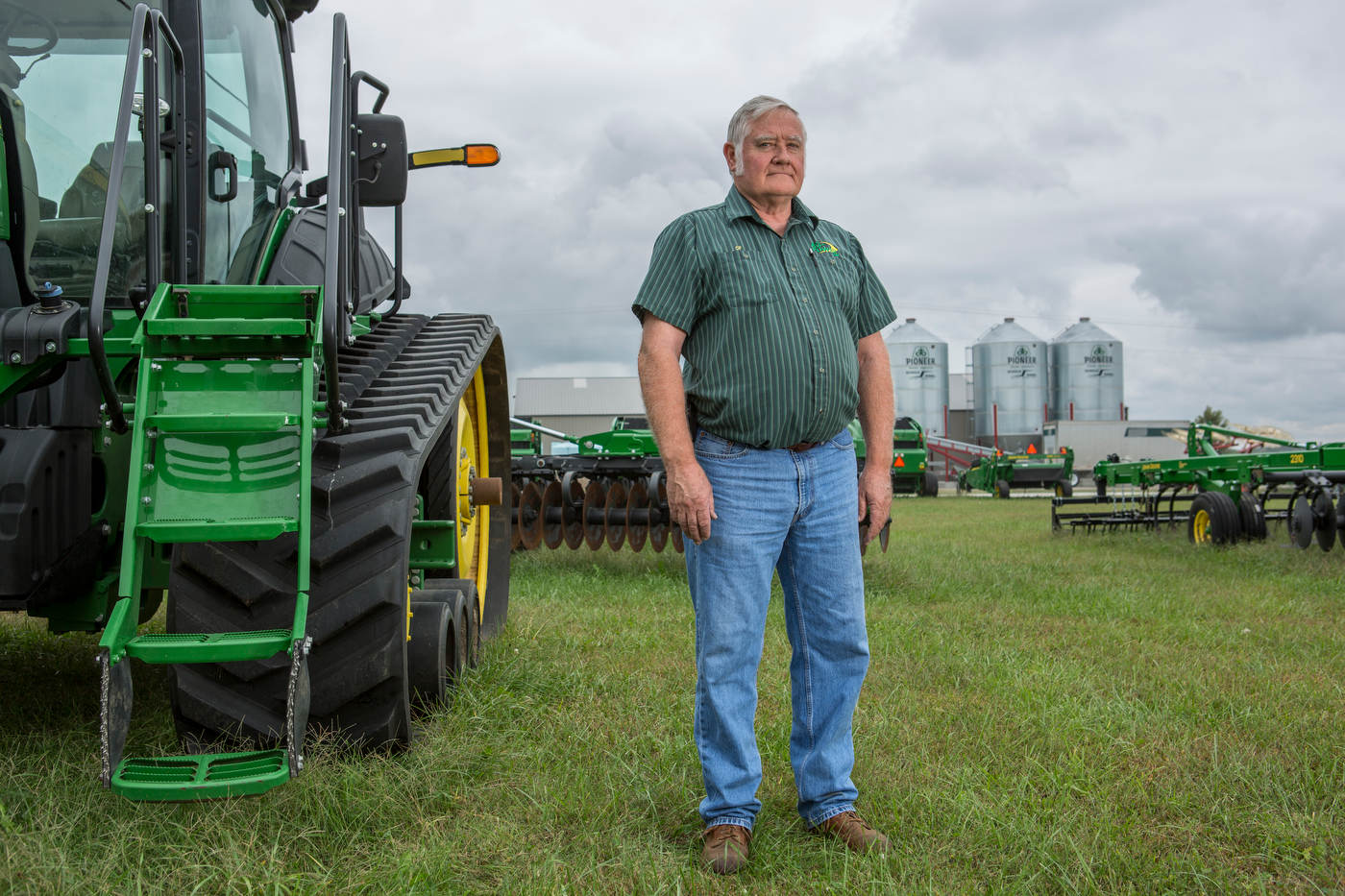 {quote}No one thought that Trump was gping to win the nomination. I support him because of the supreme court nomination{quote}, John Deere salesman, Missouri.