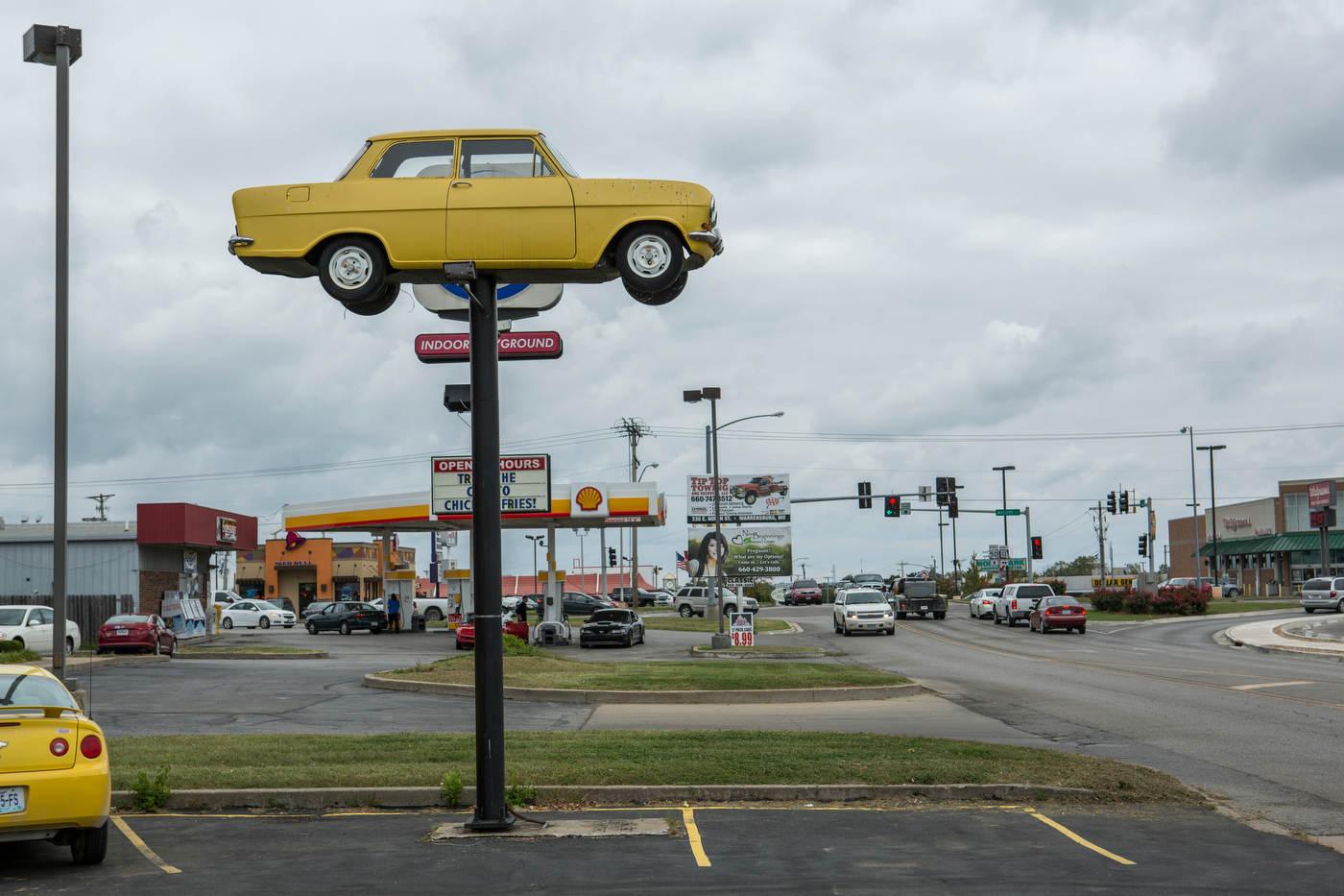Route 50, Missouri.
