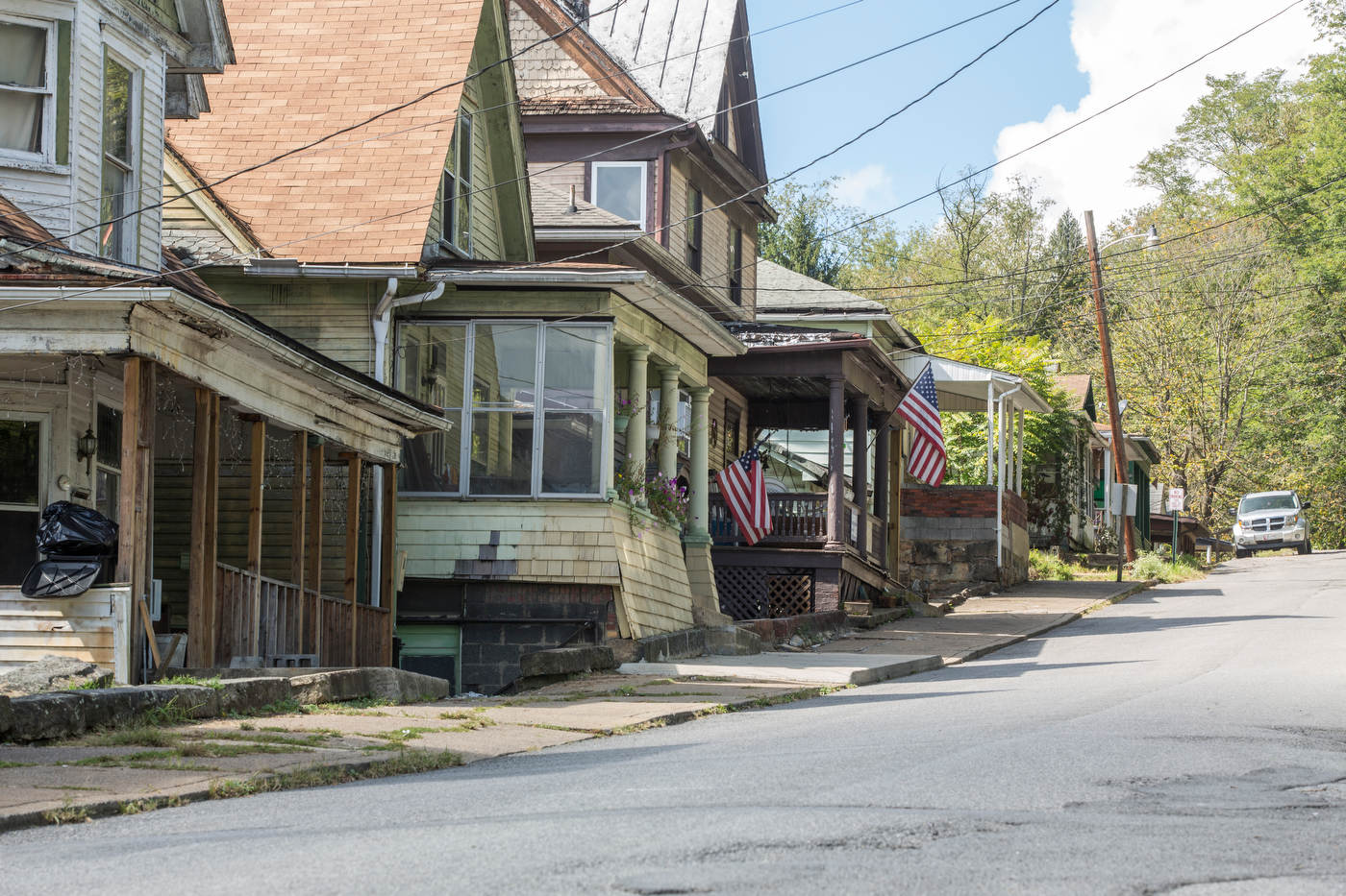 Clarksburg, coal country | West Virginia.