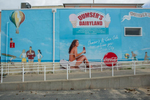 Mural, Ocean City, Maryland, at the end of Route 50.