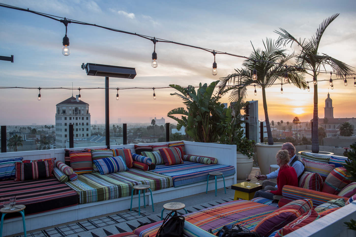 Rooftop, Mama Shelter hotel, Hollywood.