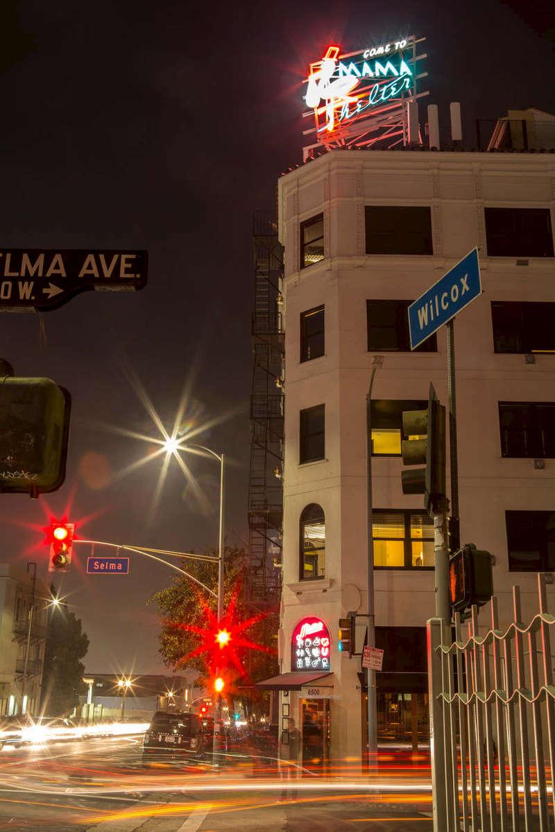 Mama Shelter hotel, Hollywood.