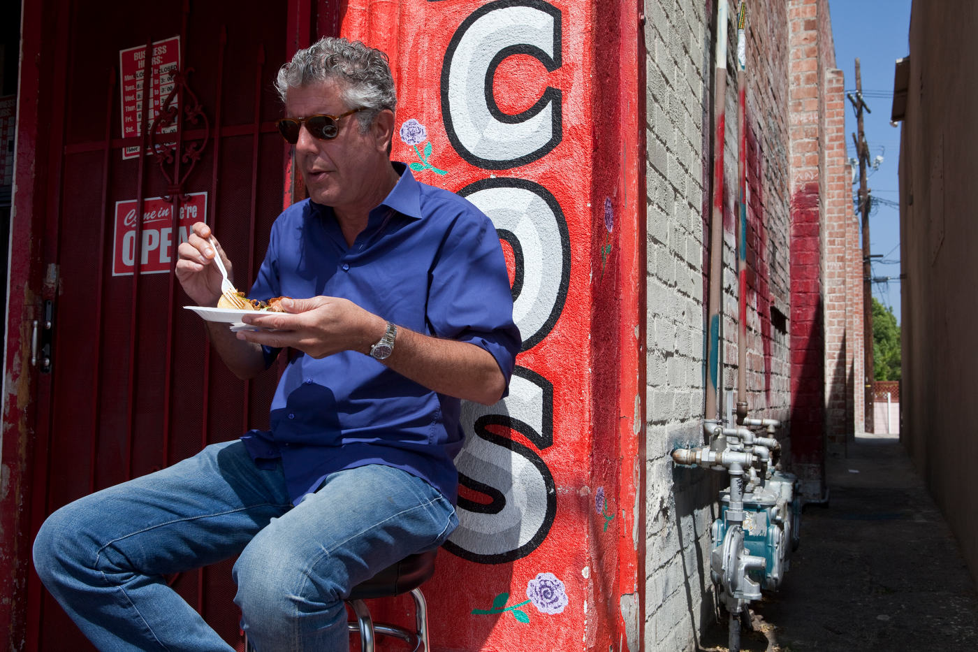 Anthony Bourdain, The Travel Channel.