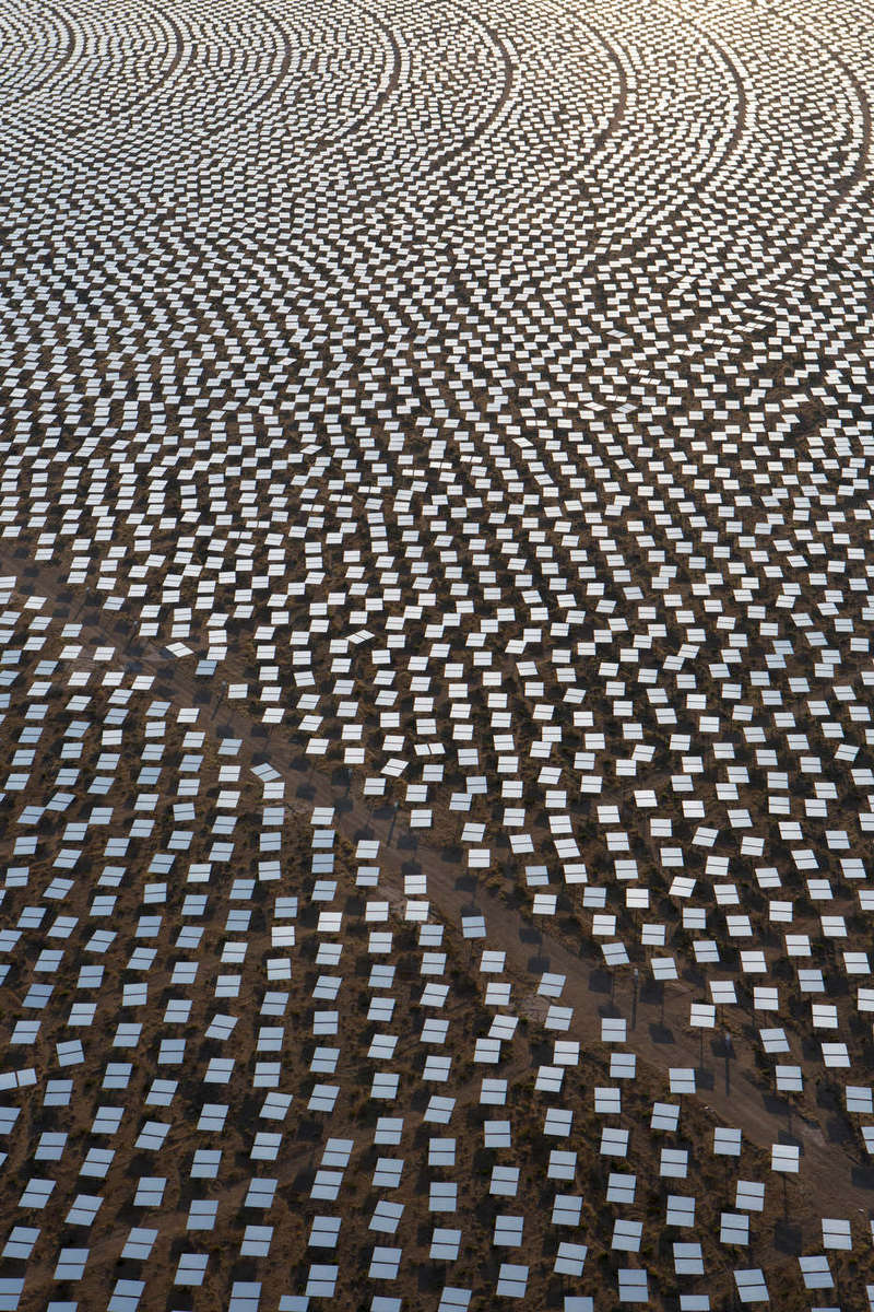 Ivanpah Solar Plant.