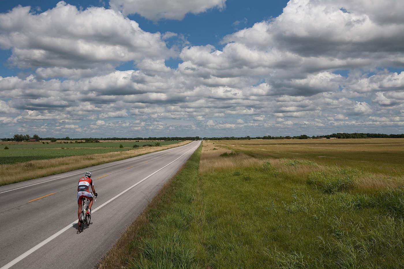 Race Across America, for l'Equipe Magazine.