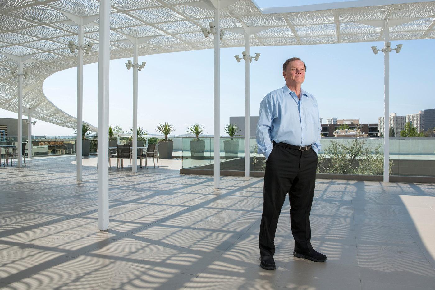 Terry Tamminen, CEO of the Leonardo Di Caprio Foundation, in Beverly Hills.