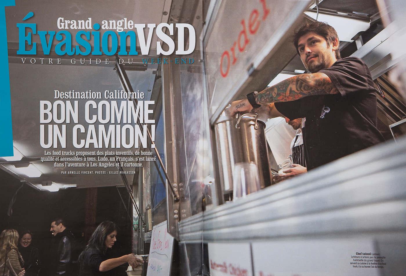 VSD Magazine (France).
