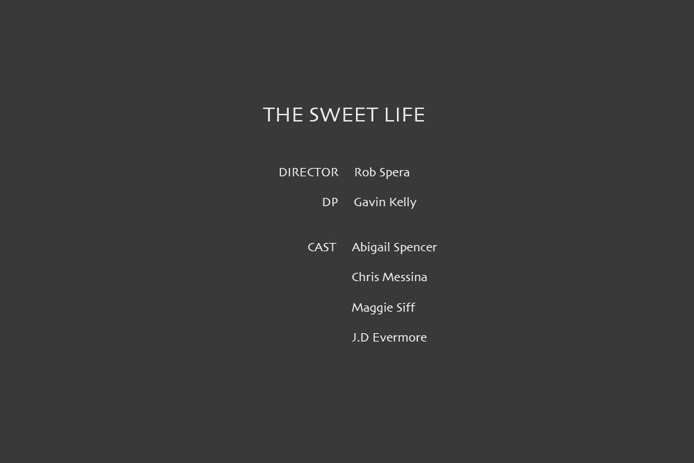 TheSweetLife_text
