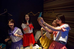 EBISU, TOKYO -MAY 2017: dressed up for the occasion, friends enjoy an evening of Karaoke over old Japanese pop songs after work (photo Gilles Mingasson).