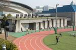 SHIBUYA, TOKYO: Sunday exercise at Yoyogi Park (photo Gilles Mingasson).