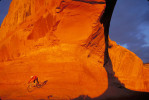 Mountain biker, Moab, Utah, for VTT Magazine.