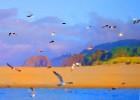 Seaguls_at_Cannon_Beach_Topaz_2