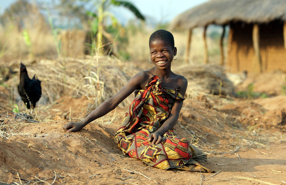 Young girl, Malawi.