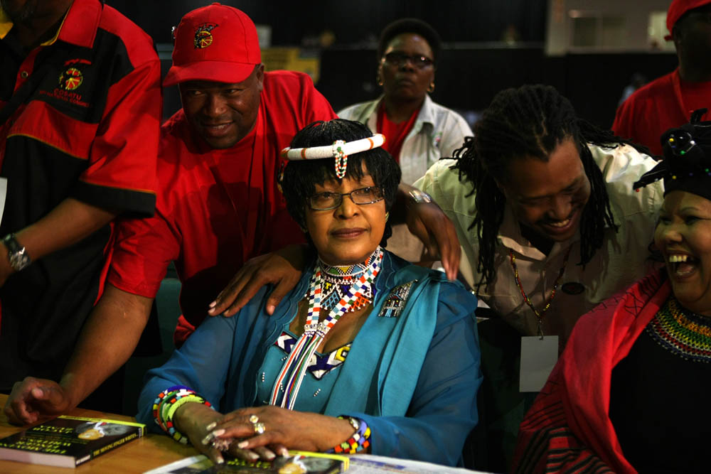 Winnie Madikizela-Mandela. 2009. Picture: James Oatway.