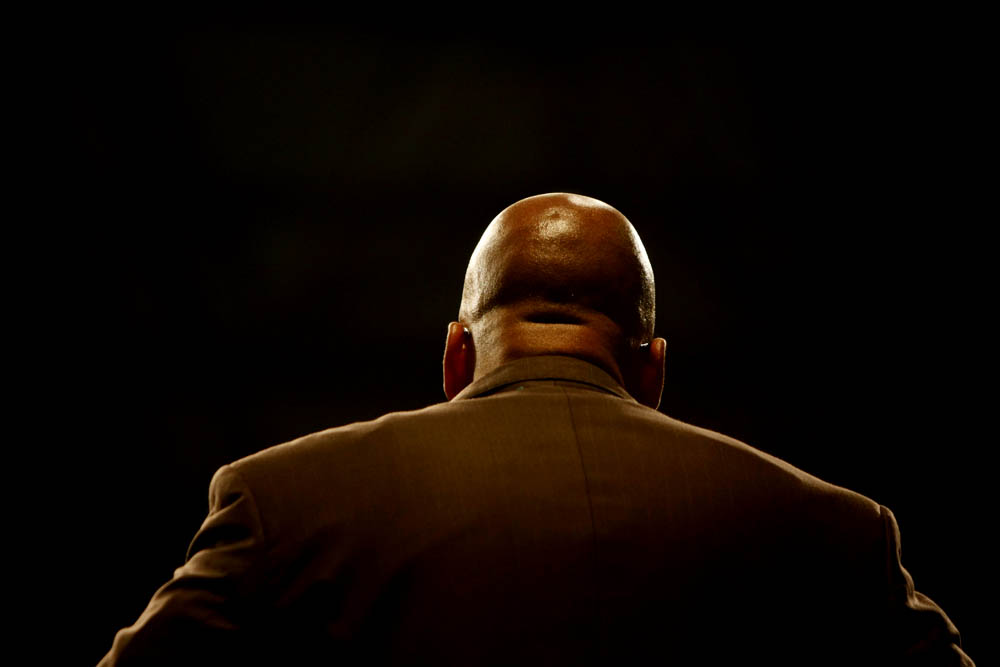 President of South Africa, Jacob Zuma. 2009. Picture: James Oatway.
