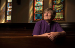 ERIN SWENSON,74,  at Central Presbyterian Chuch in Atlanta, where she attended as a teen. She broke new ground within mainstream Christian Protestant faith groups in 1996, when the Presbytery of Greater Atlanta, by a vote of 186 to 161, sustained her ordination as a Presbyterian minister. Erin had transitioned from male to female that year after 23 years of ordained service, and with the Presbytery's vote in 1996 she became the first mainstream minister in the U.S. to make a gender transition while remaining in ordained office.