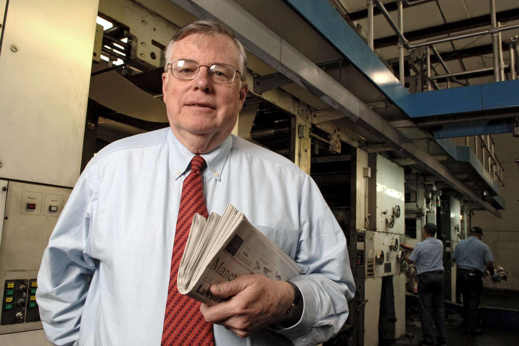 Otis Brumby, publisher, Marietta Daily Journal, Marietta, GA, and UGA Foundation trustee. 5/31/05