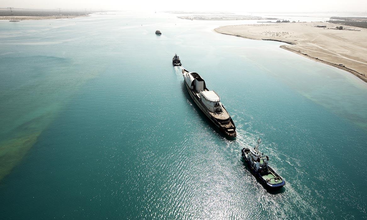 ADMShipyards, Abu Dhabi, U.A.E.