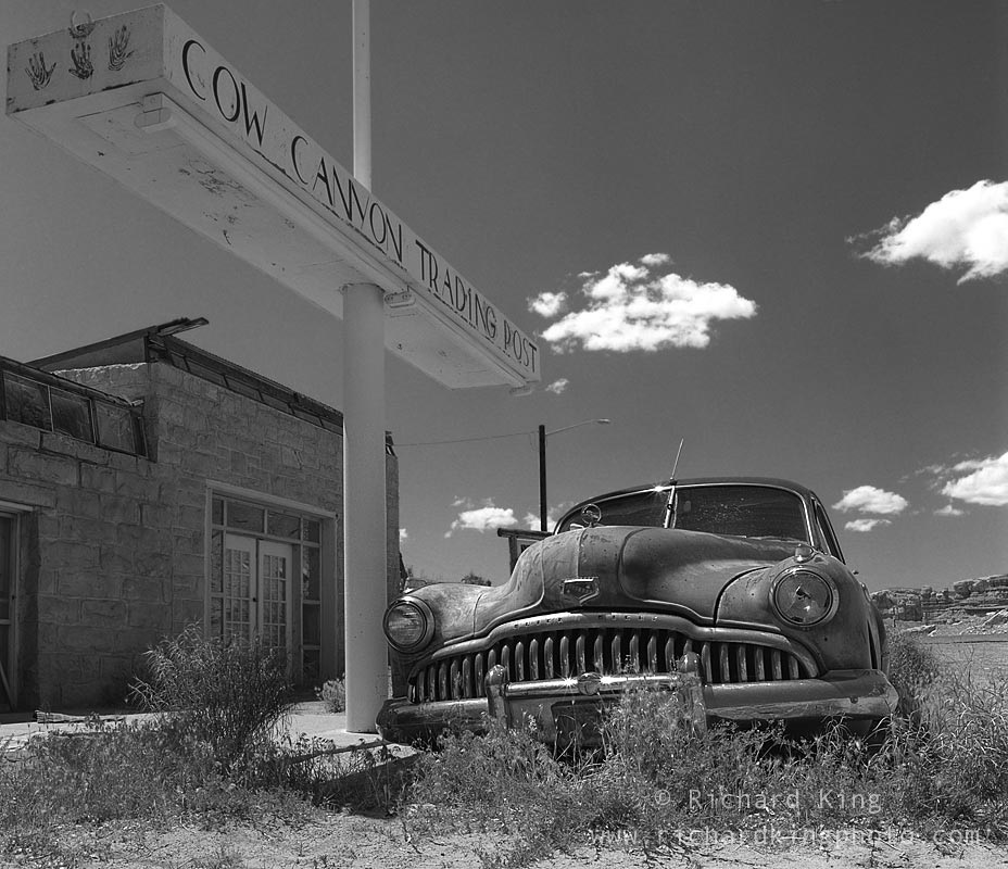 1949 Buick Eight, Cow Canyon Trading Post, Bluff, Utah, USAImage no: 030401.07  Click on link to add to cart http://bit.ly/aLKVvg