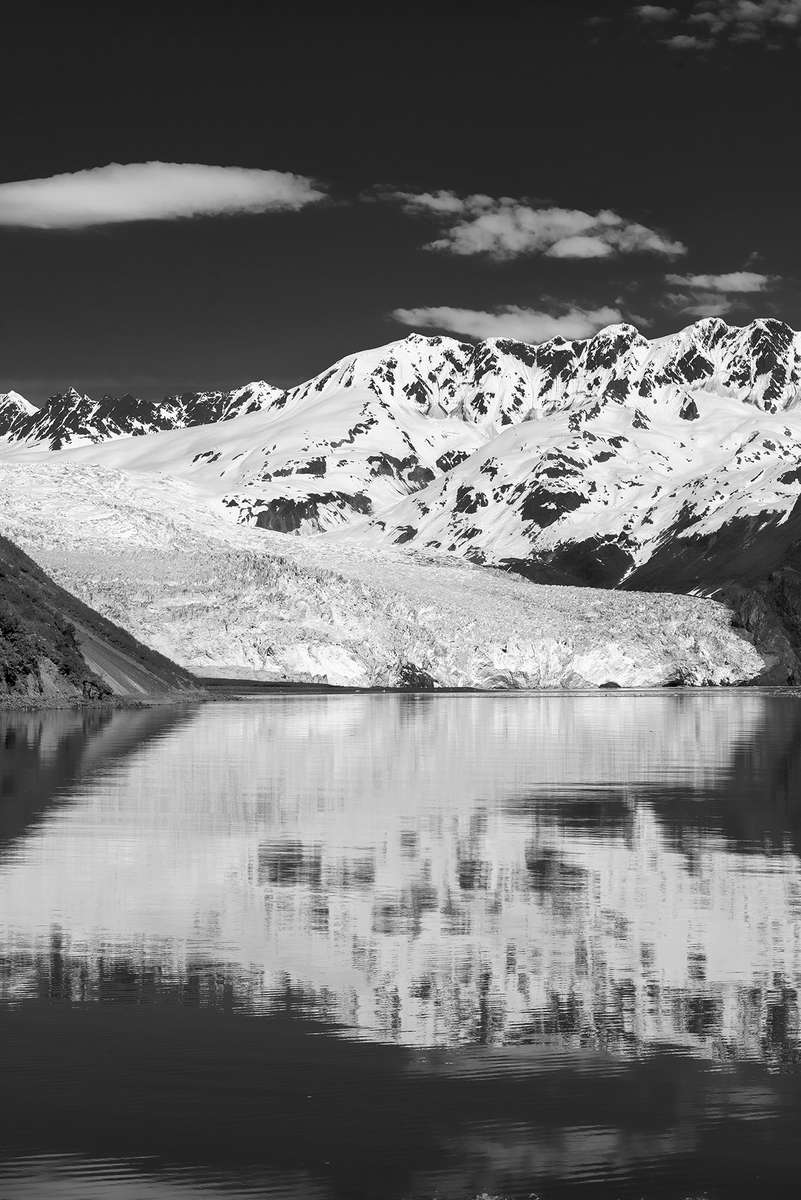 Aialik Bay near Seward, AlaskaImage no: 16-016723-bw   Click HERE to Add to Cart