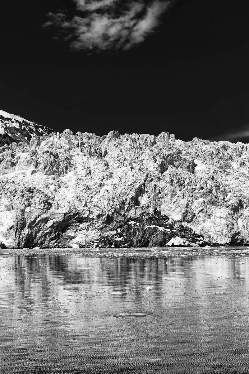 Aialik Bay near Seward, AlaskaImage no: 16-016803-bw   Click HERE to Add to Cart